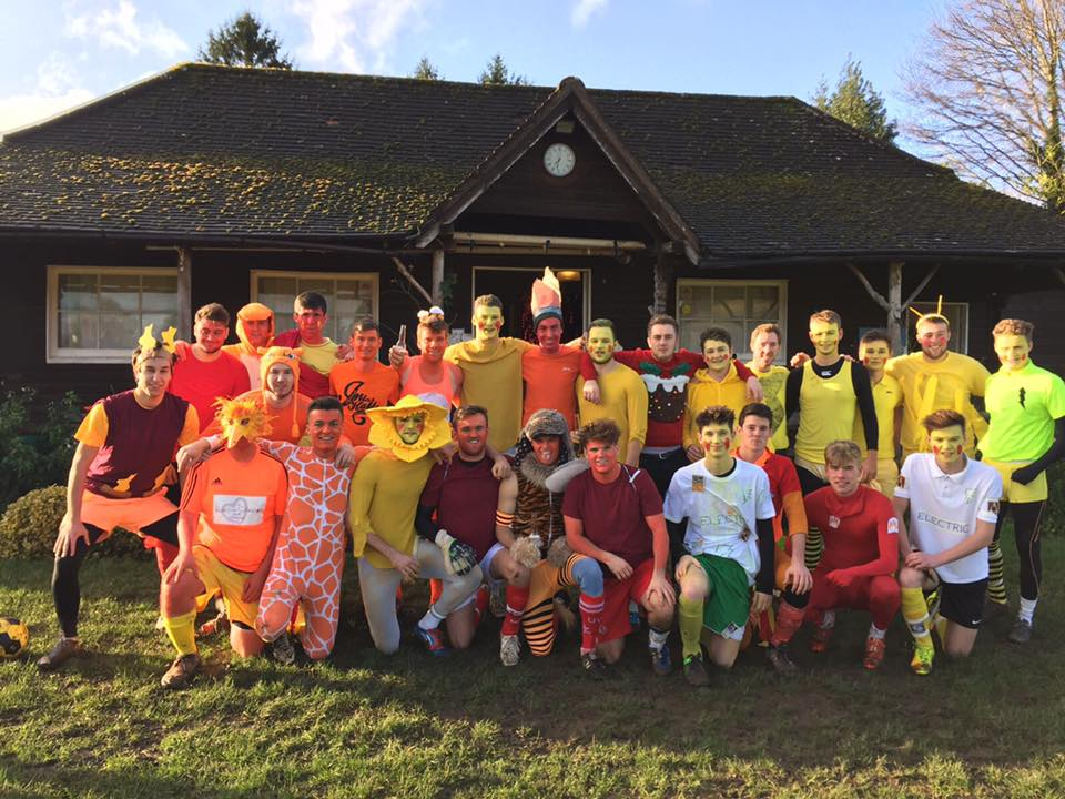 Dorkinian FC Annual Christmas Eve Game 2015