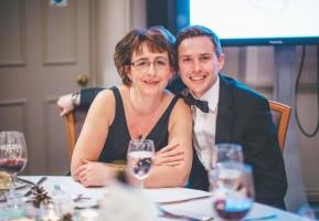Matt and Suzanne at Becca's Dinner Dance Feb 2016
