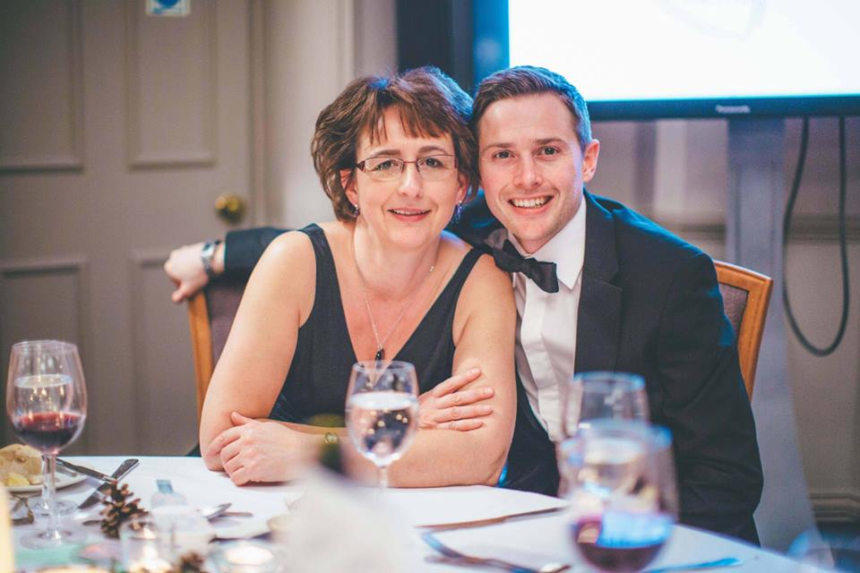 Matt and Suzanne at Becca's Dinner Dance Feb 2016