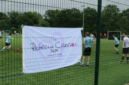Rebecca Cannon Vitality Fund 5 a side Football Tournament