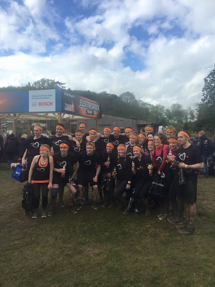 Tough mudder runners 2015