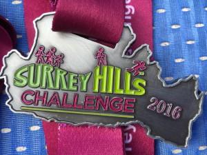 Inaugural Surrey Hills Challenge Medal