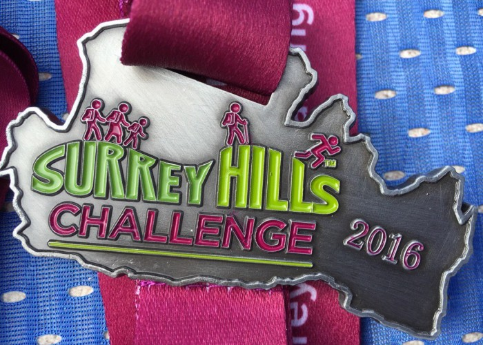 The medal received by participants