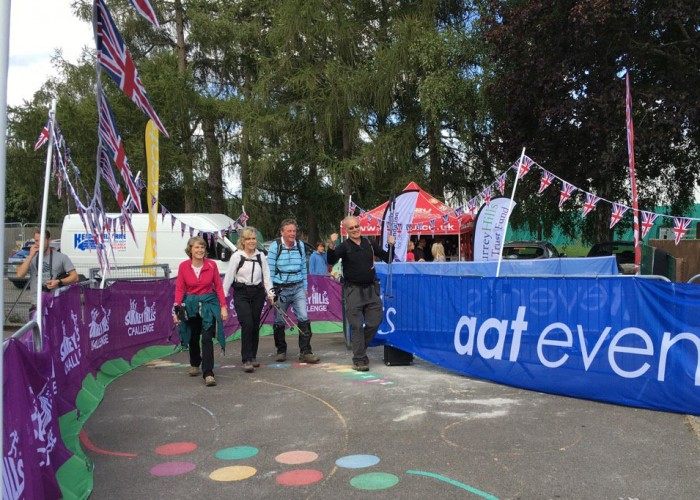 Our trustees approach the finish!