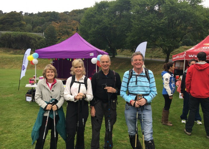 Some of our participating trustee team prior to setting off